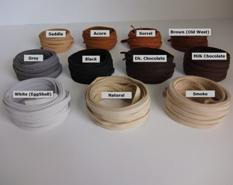 "Deerskin ""Jewelry"" Leather Lace 5/64"" - 2mm x 40 inches Long Premium Grade. 17 Total Feet. Deerskin Lace, Deerskin, Deer, Leather, Lace,"