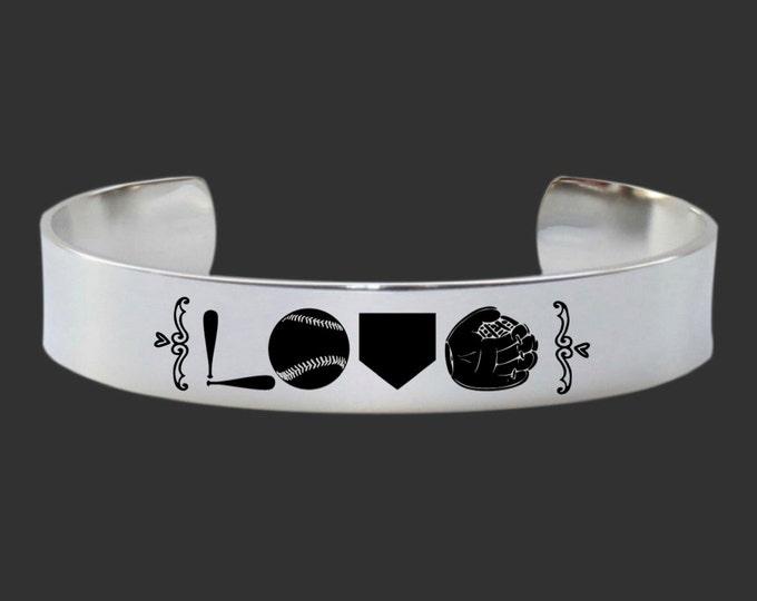 Baseball Bracelet | Baseball Jewelry | Baseball Gift | Softball Bracelet | Softball Jewelry | Softball Gift | Mother | Korena Loves