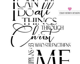 SVG I can do all thing through Christ cut able SVG Design File