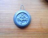 Old Seth Thomas Mantle Clock Pendulum Bob Antique Parts Salvage Repair Replace