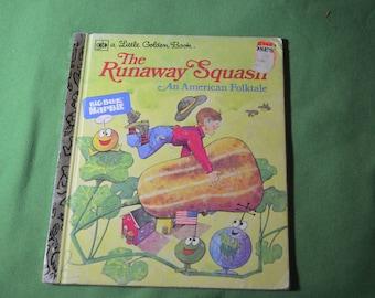 "Vintage Little Golden Book "" The Runaway Squash"" published 1976"