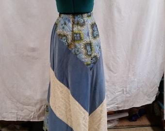 lovely maxi hippie skirt