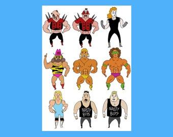 Wrestling Card