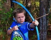Blue Kids Bow, Quiver, and Arrow Set