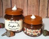 Handmade Pumpkin Pie Sugar Scrub- Pumpkin Pie Body Scrub- 4 oz Jar Sugar Scrub- All Natural Body Scrub- Pumpkin Pie Sugar Scrub- Body Scrub