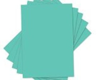Sizzix - Inksheets - 4in x 6in Transfer Film - 5 Green Sheets