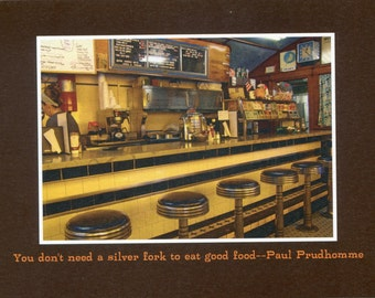 Diner - photo card