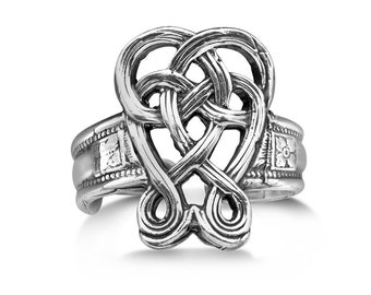 "Spoon Ring: ""Celtic"" by Silver Spoon Jewelry"
