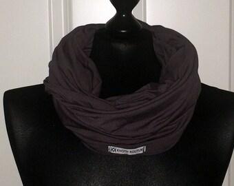 Jersey loop scarf XXL grey