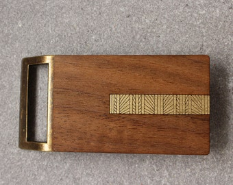 Geometric Belt Buckle, Wood Belt Buckle, Modern Belt Buckle, Men's Belt Buckle, Wooden Belt Buckle, Rustic Belt Buckle, Men's Gift, Guy gift