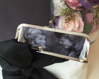 ADD ON - Photo Personalized for your SheetaDesign Clutch, Personalized Gift, Wedding, Bridal, Mother Of The Bride, Mother of the Groom