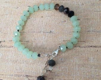 Green arm candy bracelet