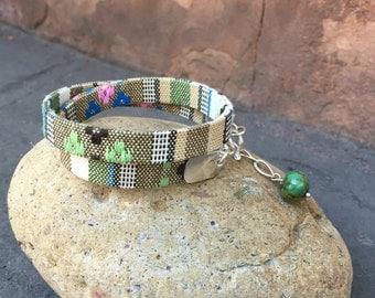 Boho Woven Wrap Bracelet