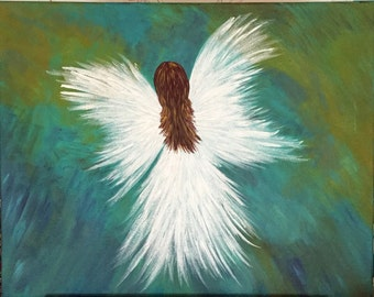 16x20 Angel painting