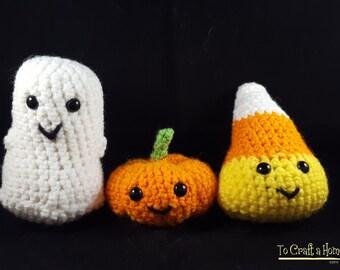 Crochet Halloween Buddies