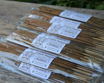 Natural incense | handmade, natural incense | 10 sticks per pack