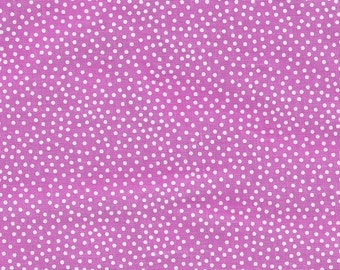 Fabric by the Yard Michael MIller Garden Pindot Orchid