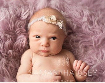 Newborn headband, baby headband headband, tie back headband, headband
