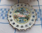 Decorative California plate - Kitsch souvenir