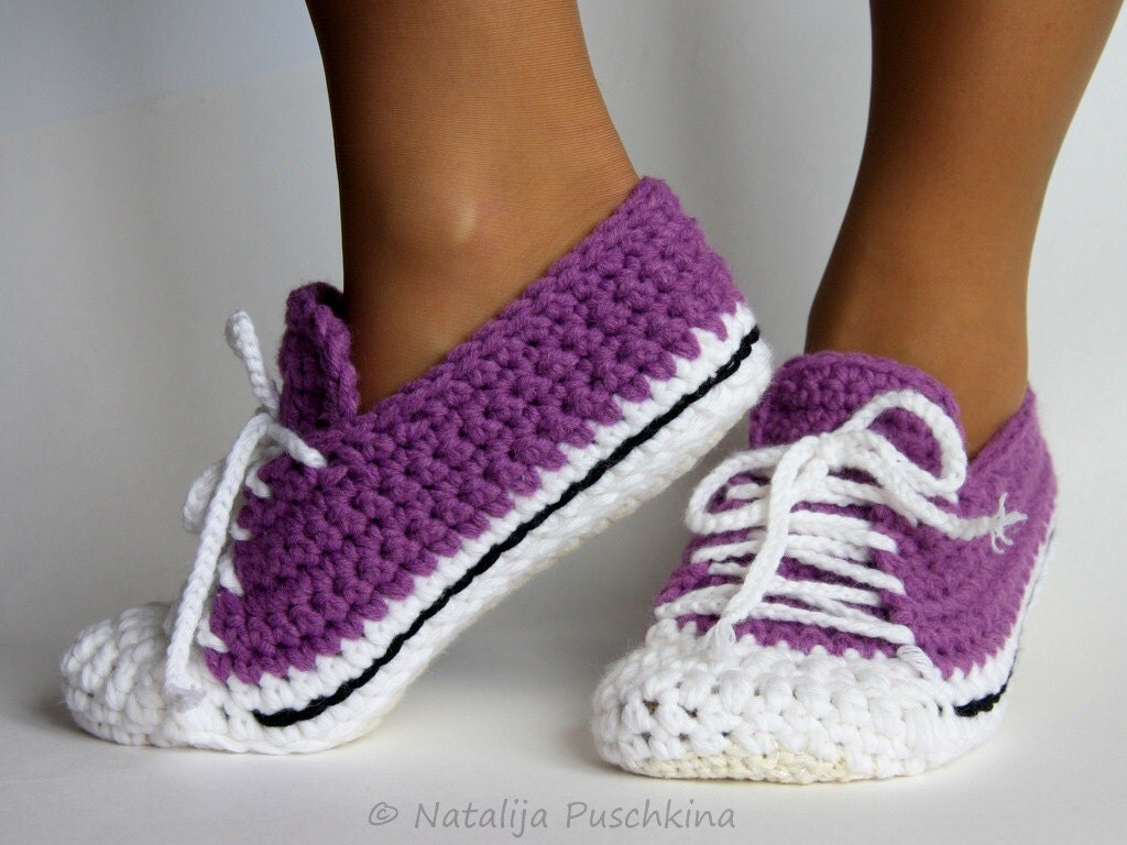 Quick and Easy crochet pattern home sock by HandMadeByNatalija