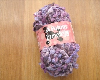 Patons Pooch purple sunset yarn 1 skein
