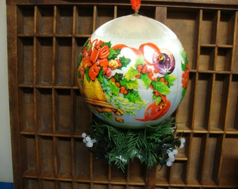 Hallmark Mistletoe Hanging Ball Ornament