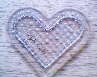 Heart Pegboard, Ironing Paper, Instructions, Bead Art Supply, Craft Supply, Church Craft Supply, Kids Crafts