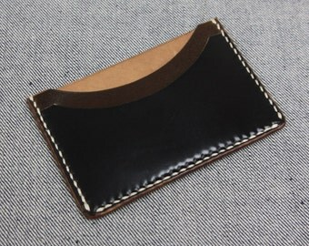 Horween Shell Cordovan Cardholder
