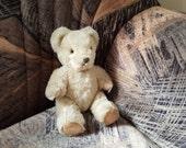 """Vintage German Teddy bear, mohair teddy bear from 1960s - 8"""" (20 cm)"""