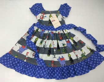 Dr Seuss Halloween Characters Dress Made to Order