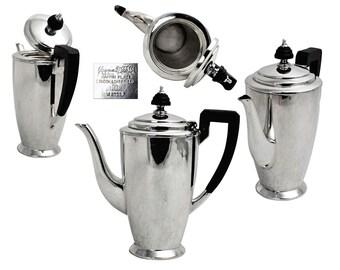 Vintage Mappin & Webb Sheffield Plate Coffee Pot.