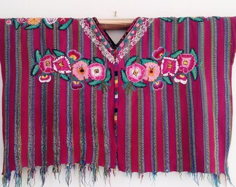 Guatemalan Guipil , Guatemalan Huipil, Hand embroidered blouse