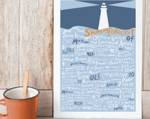 And now the Shipping Forecast issued by... Giclee Print