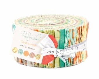 Refresh Jelly Roll by Sandy Gervais for Moda
