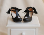 Demon/Angel heels for BJD sd/msd/yosd , 2 colors