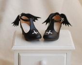 Demon/Angel heels for BJD sd/msd