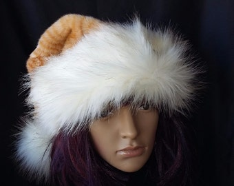 Limited Edition Orange cat Santa Hat with cat pin as option
