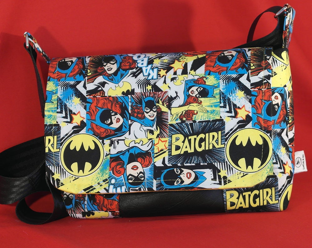 Batgirl Fabric Bag Dc Comics Fabric Batgirl Costume