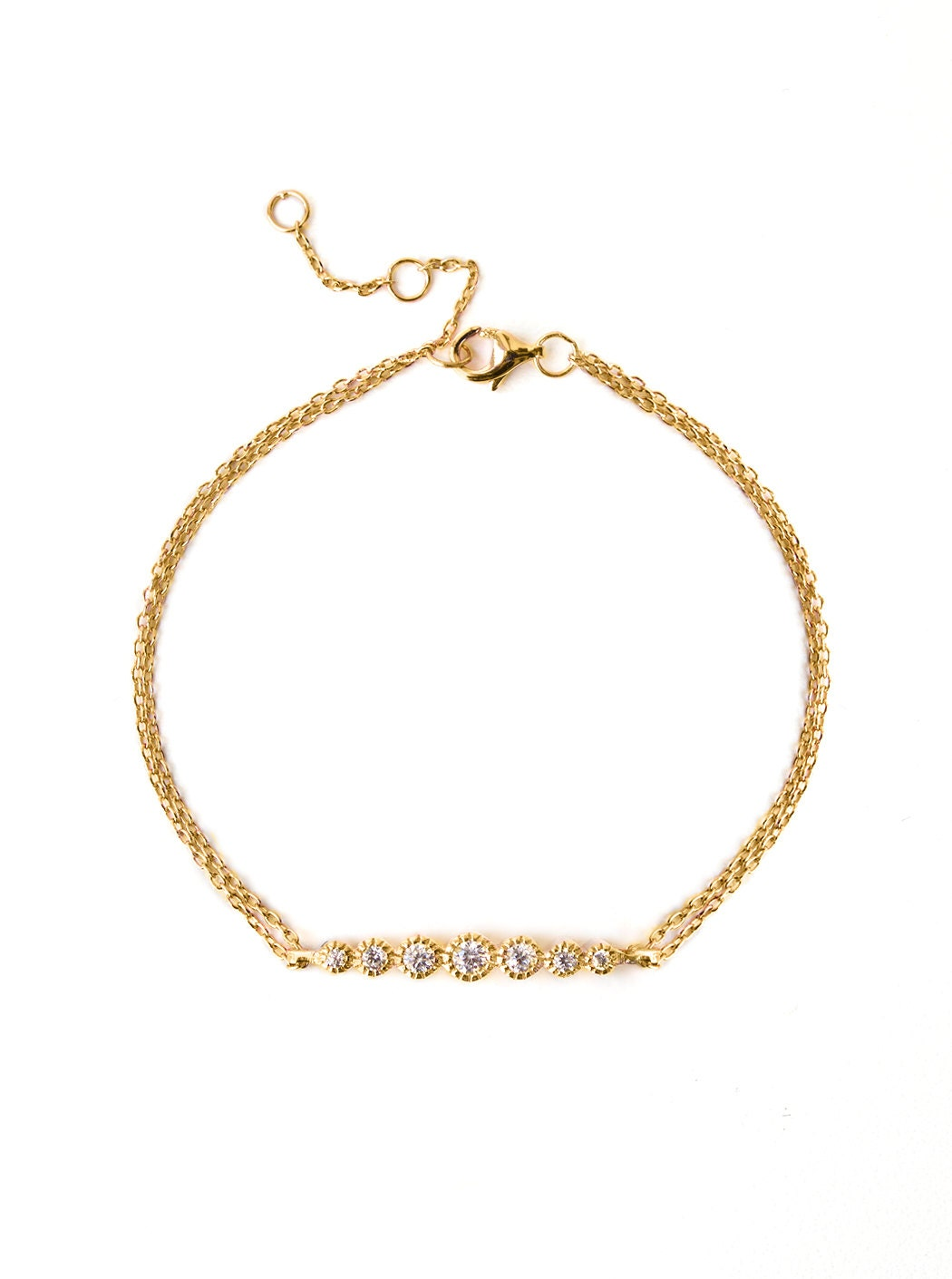 gift fullxfull bracelet p minimalist il layering jewelry simple her for delicate dainty filled gold