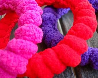 crocheted bangle Winter Days