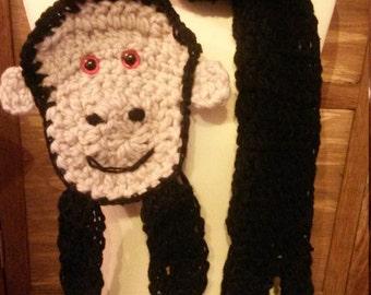 Chimpanzee/Monkey  scarf