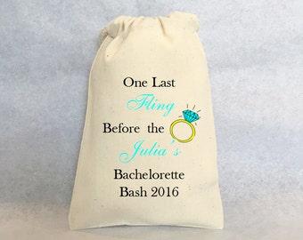 """6- bachelorette survival kit, Bachelorette party, bachelorette favor, bachelorette favor bag, bachelorette party favor bag, 4""""x6"""""""
