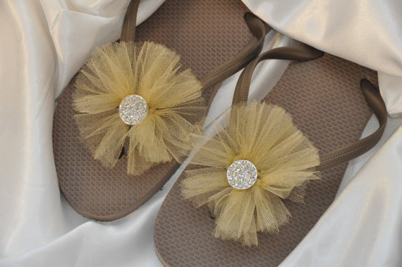 Wedding Gift Delivery Usa : Free USA Shipping! Custom WEDDING RHINESTONE Flip Flops, Bridesmaid ...