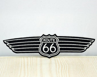 Wing Iron On Patch Sewing Applique