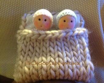 Small fabric twins Waldorf