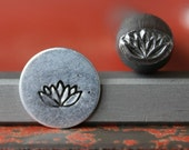 Lotus Plant Stamp Perfect for Metal Stamping and Jewelry Design Metal Work  SG375-32