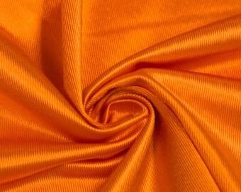 Orange Polyester Dazzle Fabric Sports Mesh Fabric , Football Fabric, Soccer Fabric, Basketball Jersey Fabric - 1 Yard Style 20010