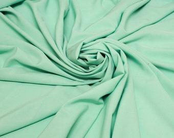 Seafoam Light Twill Stretch Woven Fabric- 1 Yard Style 457