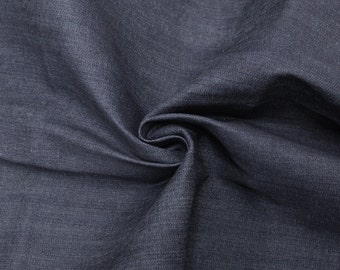 Navy Denim Fabric for Jeans, Jackets and Dresses by the yard or wholesale denim - 1 Yard 61213