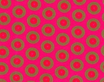 Limited edition Pink Shweshwe fabric - 100% Cotton - Genuine Da Gama, South Africa
